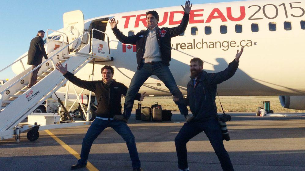 Kanadas Wahlsieger Trudeau: Boxen, backen, Bilder machen