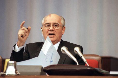 Gorbatschow im Jahr 1991