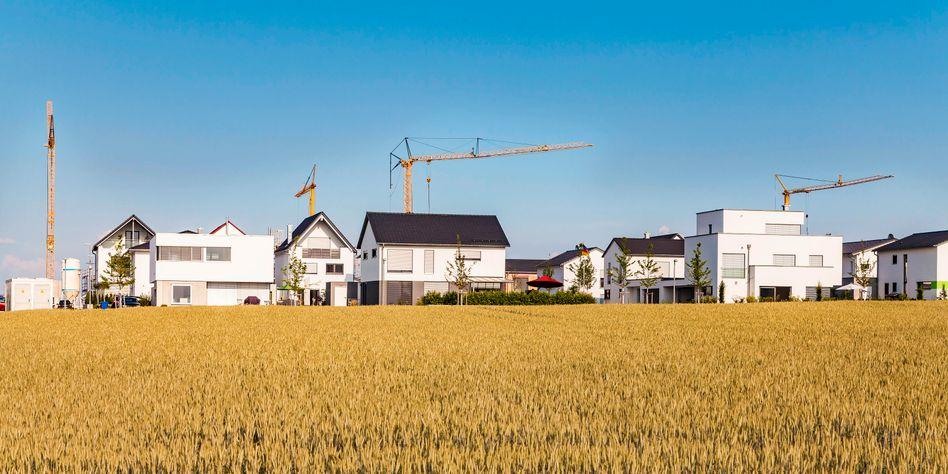 Neubausiedlung in Baden-Württemberg