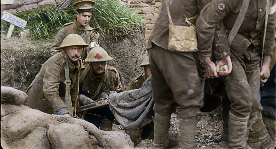 Erster Weltkrieg in 3D und Farbe: Furchtbar echt