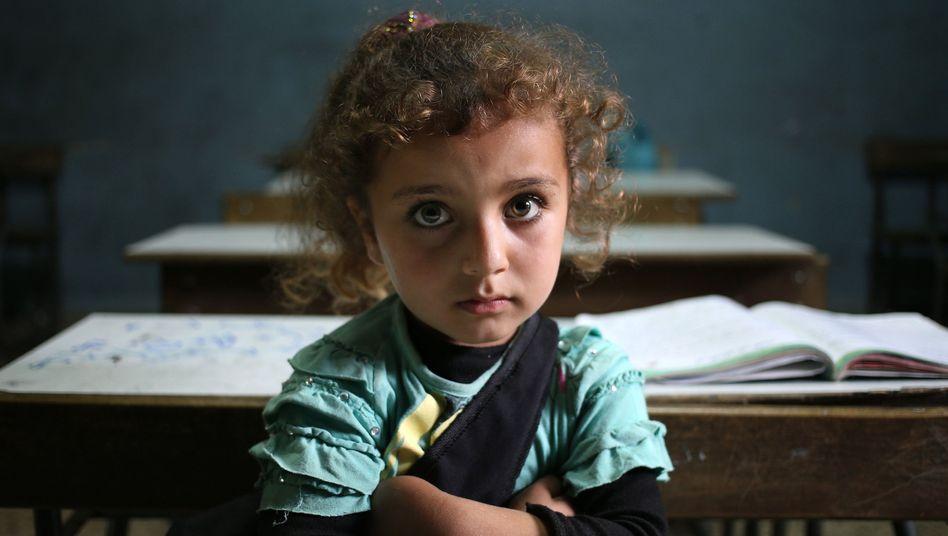 Syrisches Flüchtlingsmädchen im Libanon: 10.000 weitere Plätze