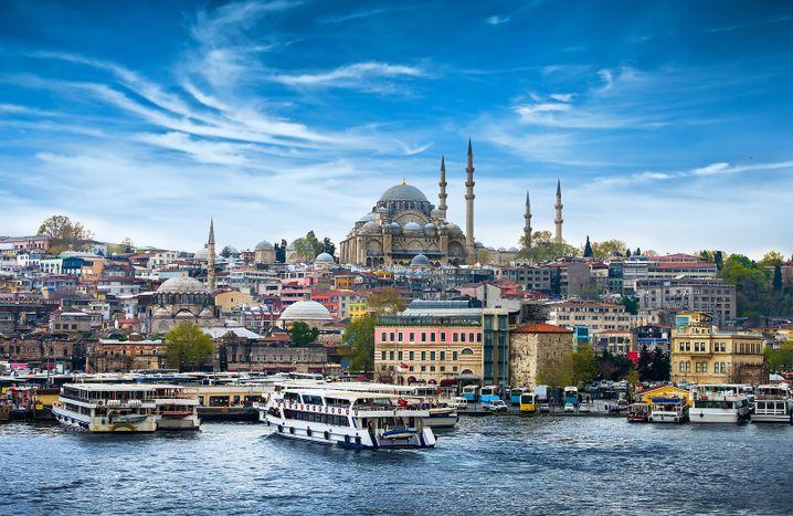 Türkische Wirtschaftsmetropole Istanbul