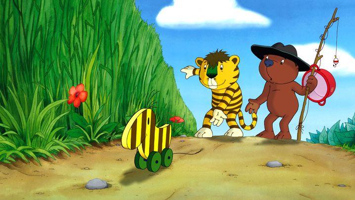 """Kleiner Tiger und Kleiner Bär mit Tigerente in """"Oh, wie schön ist Panama"""""""