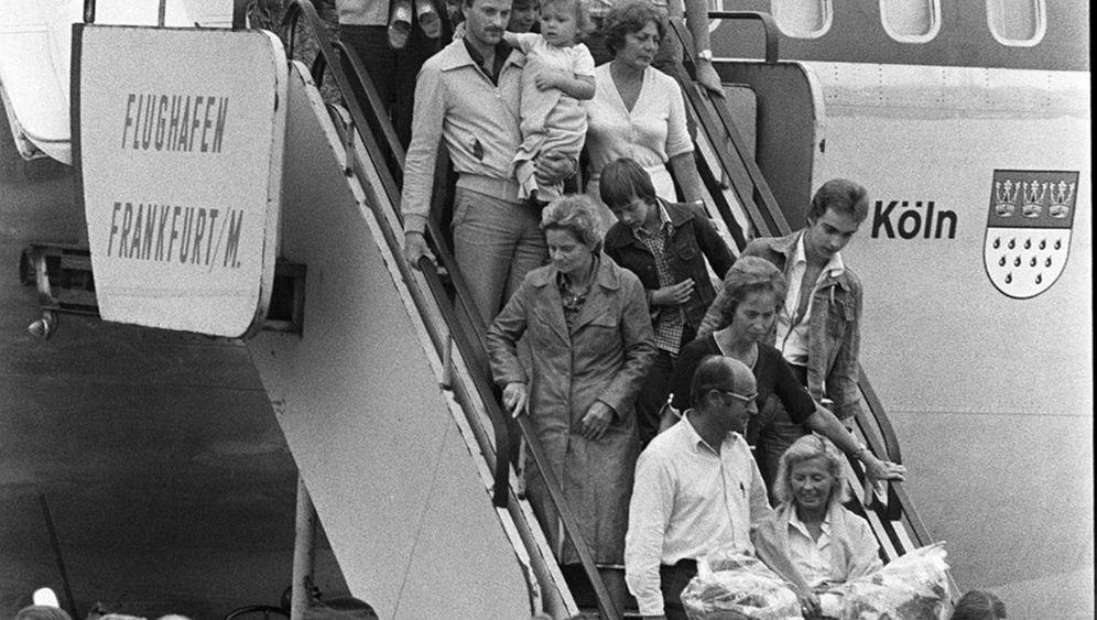 """Dreijähriger an Bord der """"Landshut"""": """"Ich wollte Cracker, aber Papas Hände waren gefesselt"""""""