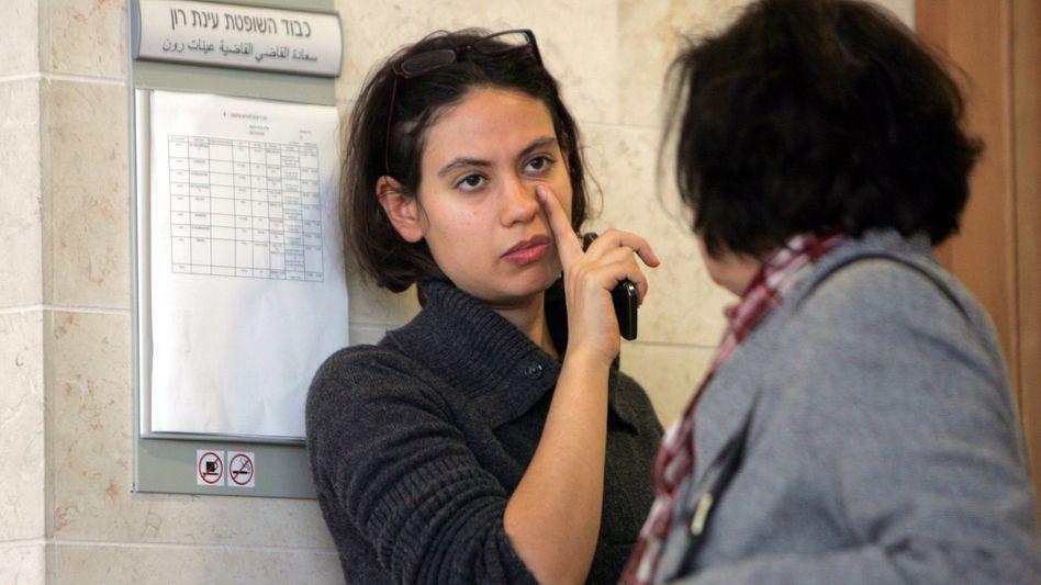 Israelische Journalistin Anat Kamm im Gericht in Tel Aviv: In den Mühlen der Zensur