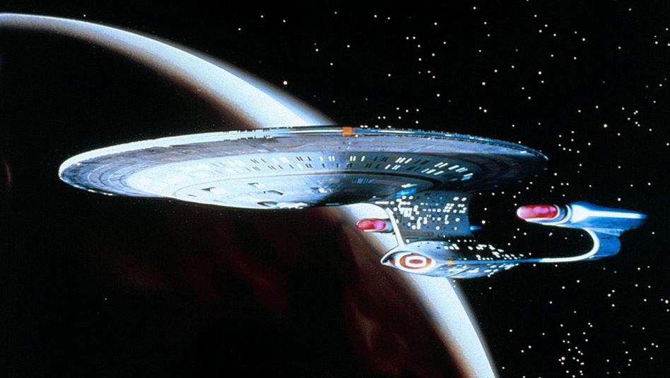Picards Wirkungsstätte: Raumschiff Enterprise NCC 1701-D