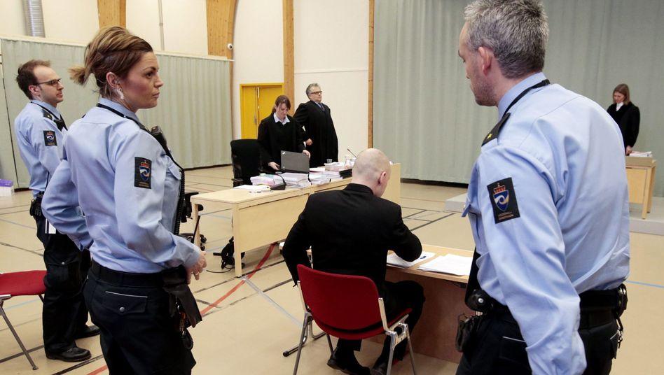 Massenmörder Breivik vor Gericht
