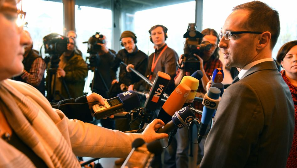 """Justizminister Maas: """"Das ist ein ideologischer Popanz"""""""