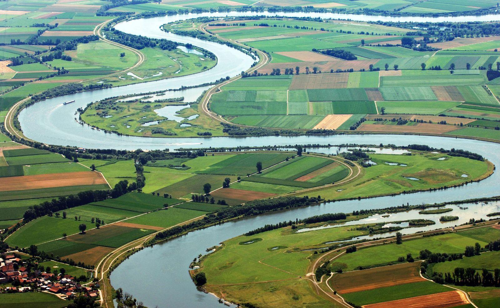 Donau / bedrohter Fluss Europas