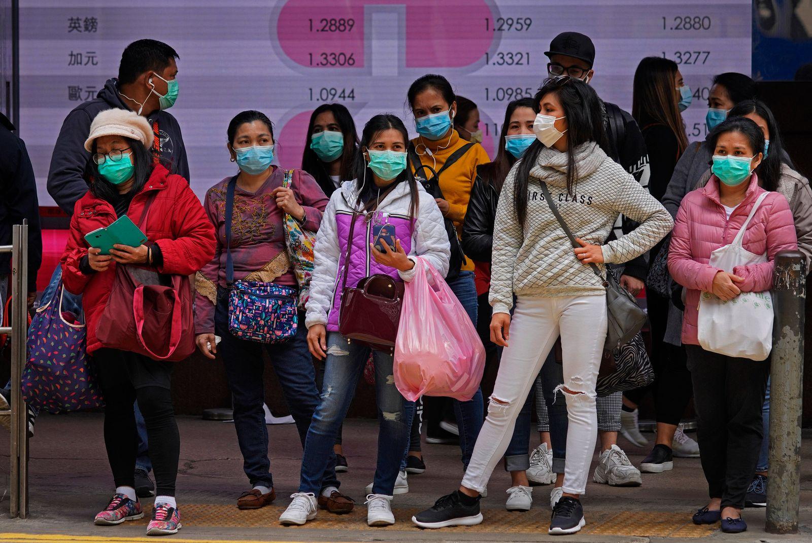 APTOPIX Hong Kong China Outbreak