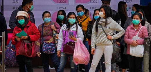 Hongkong und das Coronavirus: Streiks, Shopping, Sprengsätze