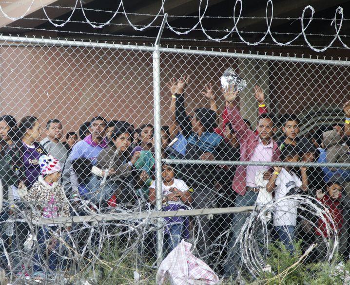 Einwanderergefängnis in El Paso, Texas