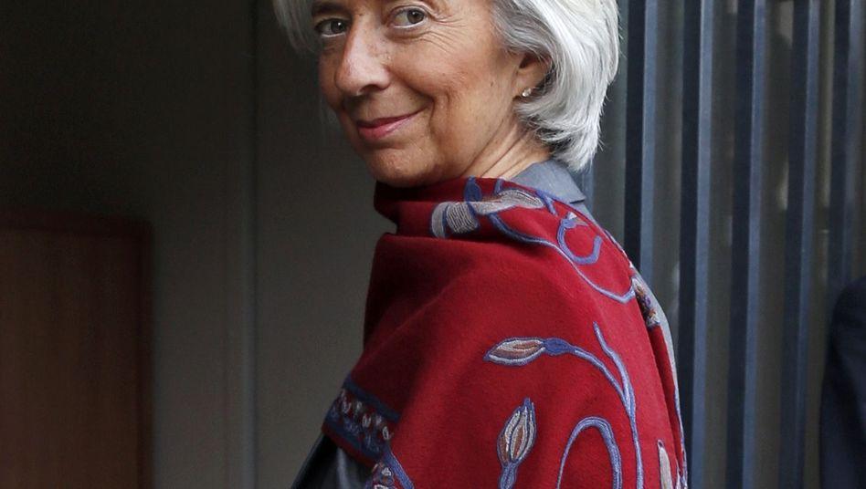 Christine Lagarde am Freitag: Die IWF-Chefin kann auf ihrem Posten bleiben