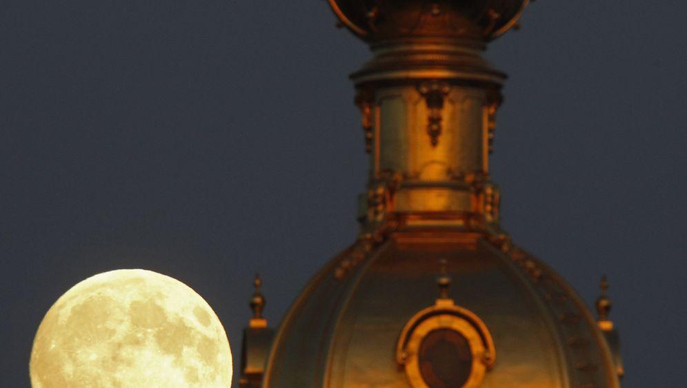 Super-Mond: Seltenes Schauspiel am Himmel