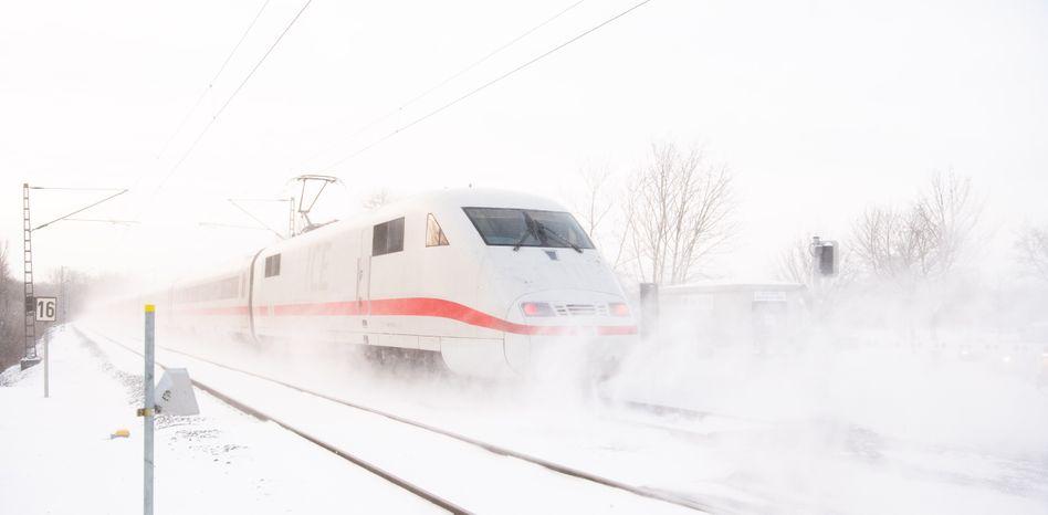 Ein ICE der Deutschen Bahn (Symbolbild)