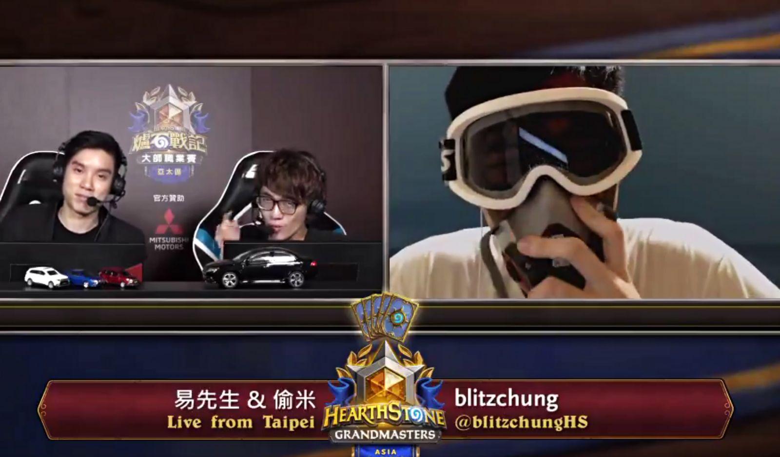 EINMALIGE VERWENDUNG NUR ALS ZITAT Blitzchung/ Chung Ng Wai