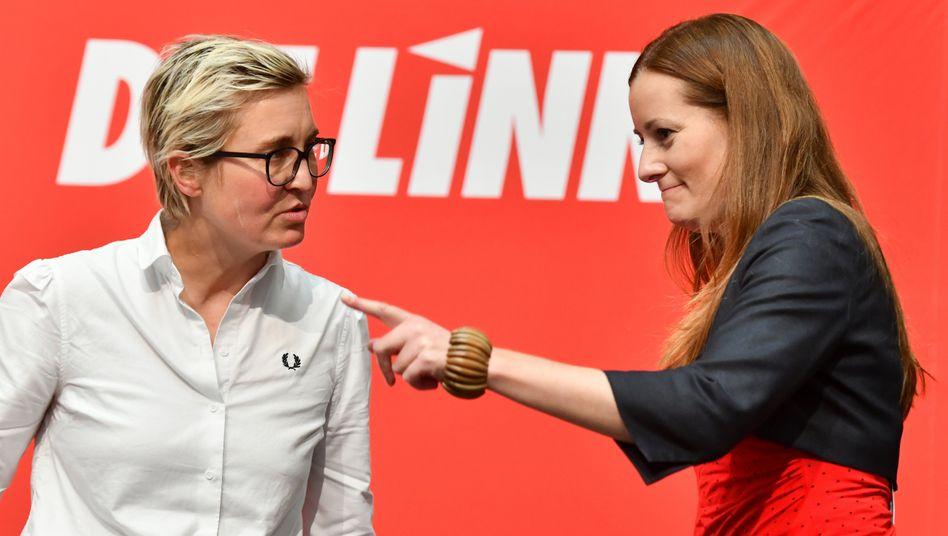 Favoritinnen für die Parteispitze: Susanne Hennig-Wellsow und Janine Wissler