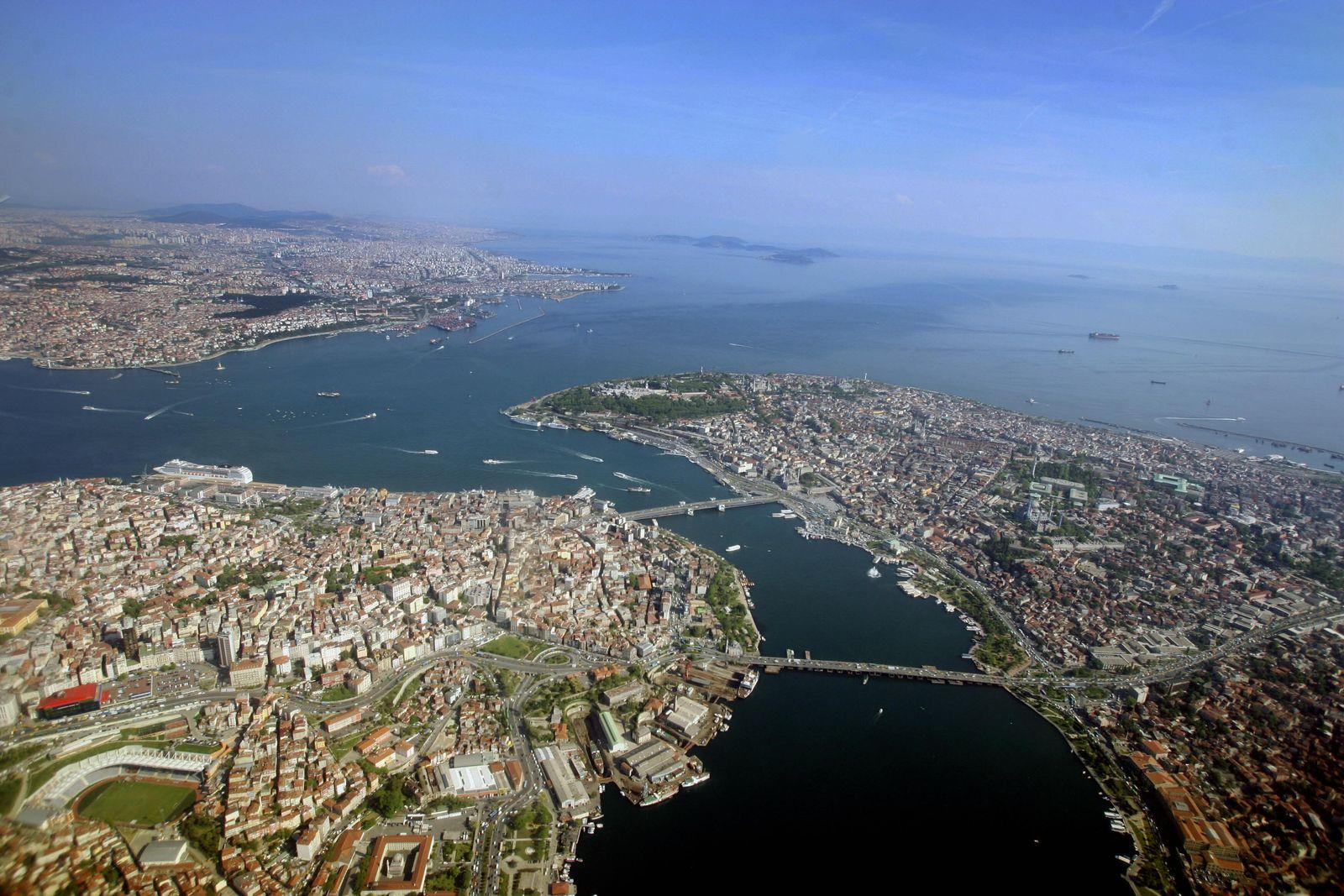 Istanbul / Luftansicht