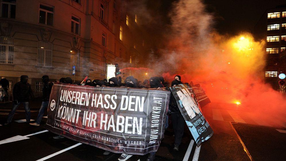 Akademikerball: Randale gegen FPÖ-Ball