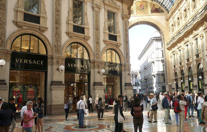 Nobelgeschäfte in Mailand: Die Wirtschaft stagniert