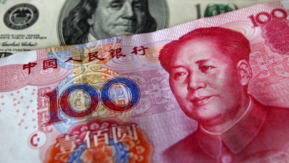 Dollar und Yuan: Fünfte Weltreservewährung