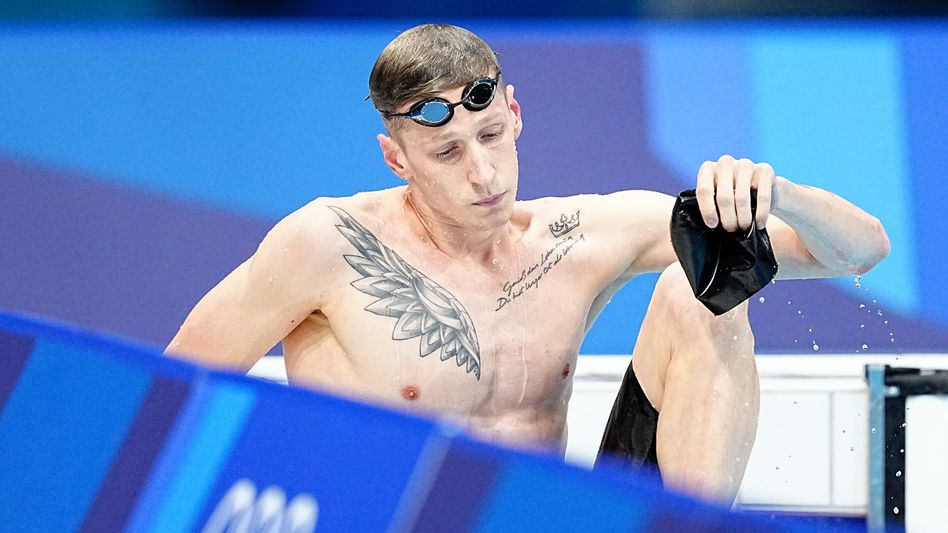 Florian Wellbrock nach Platz vier über 800 Meter Freistil: Fassungslos am Beckenrand