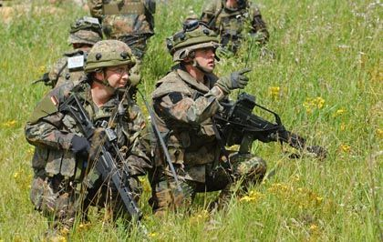 There are 3,500 German troops in Afghanistan, but some NATO allies think there should be more.