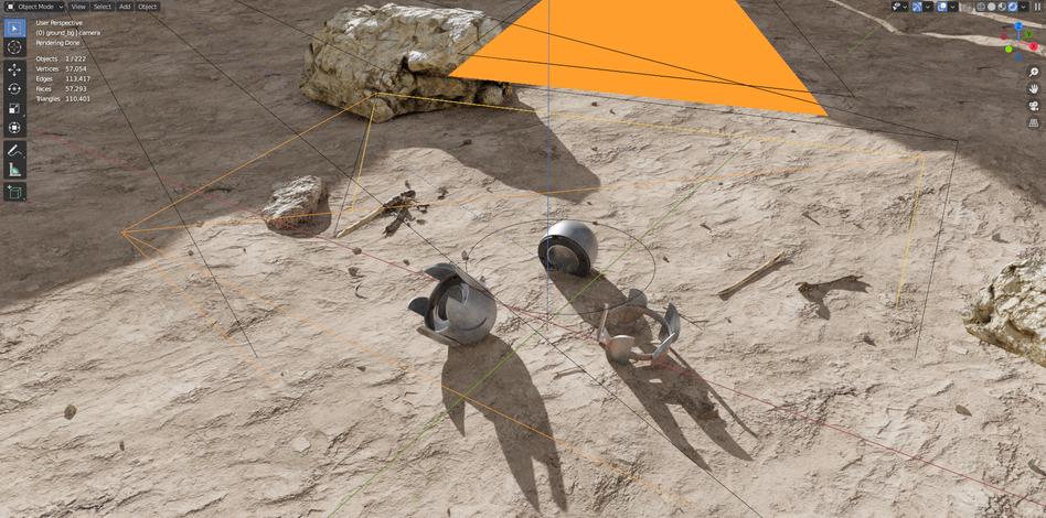 KI-Software soll künftig selbstständig Aufnahmen entdecken, auf denen Streumunition zu sehen ist