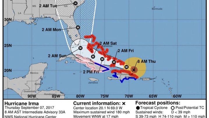 "Hurrikan: Gefährliche ""Irma"""