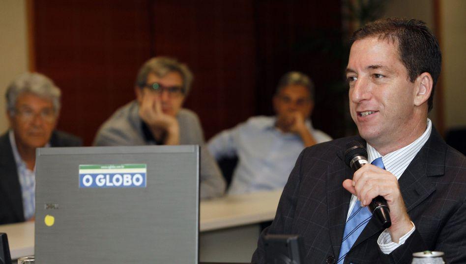 """Enthüllungsjournalist Glenn Greenwald: """"Nicht alle Aktivisten sind Journalisten, aber alle richtigen Journalisten sind Aktivisten"""""""