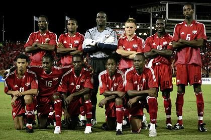 Trinidad & Tobago's soccer team will not let tough competition spoil their fun