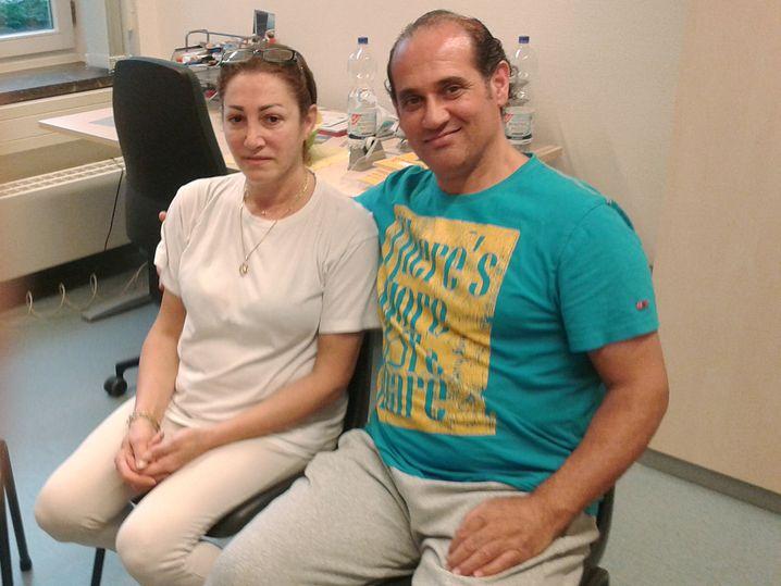 Tonios und Maha Haber sind Christen aus Syrien