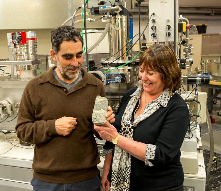 Forscher: Nutman und Bennet