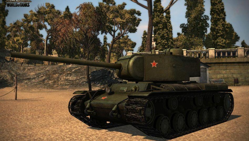 """World of Tanks"" (Screenshot): ""Panzer sind universell, das verstehen Männer weltweit"""
