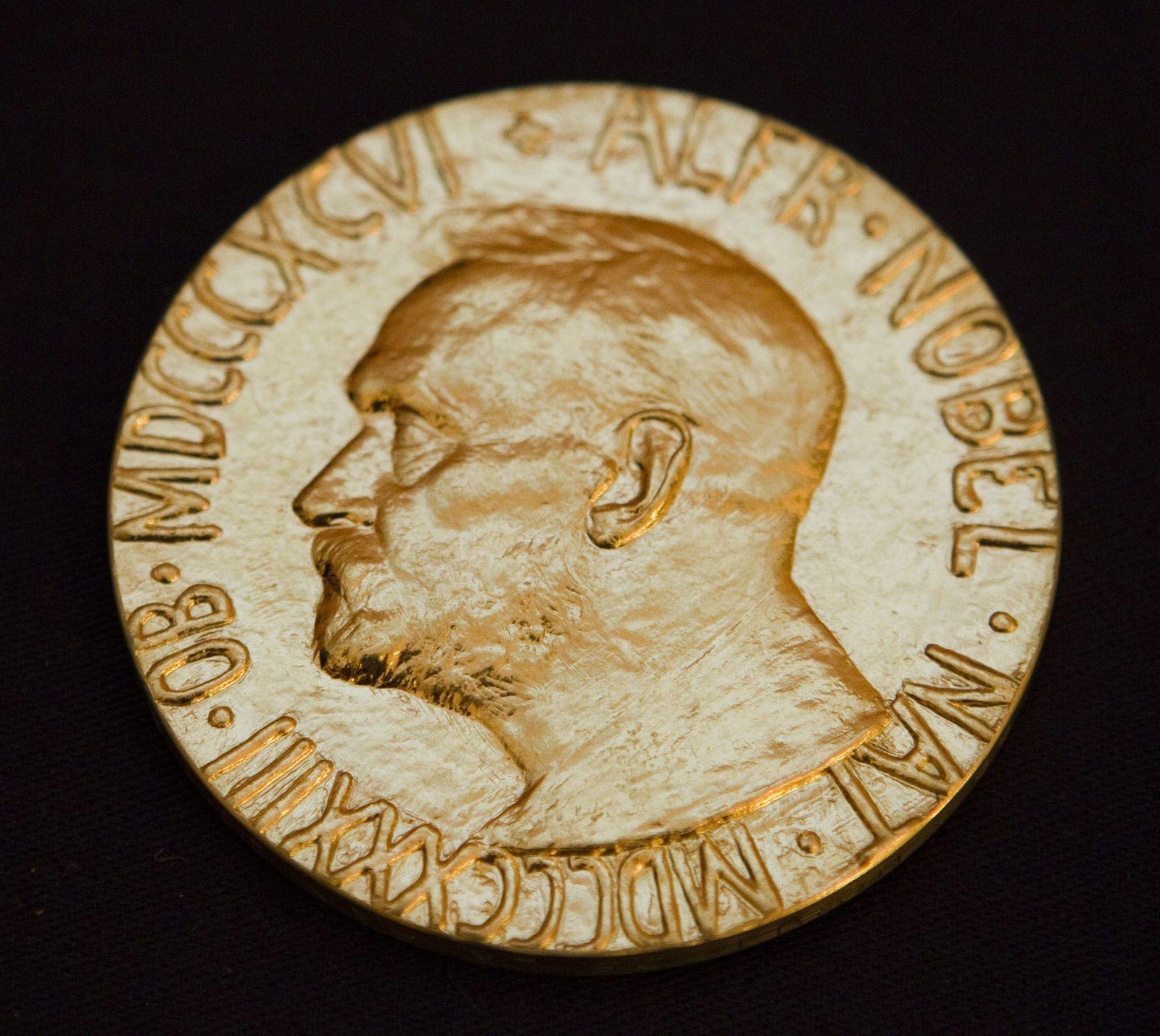 Friedensnobelpreis Medallie