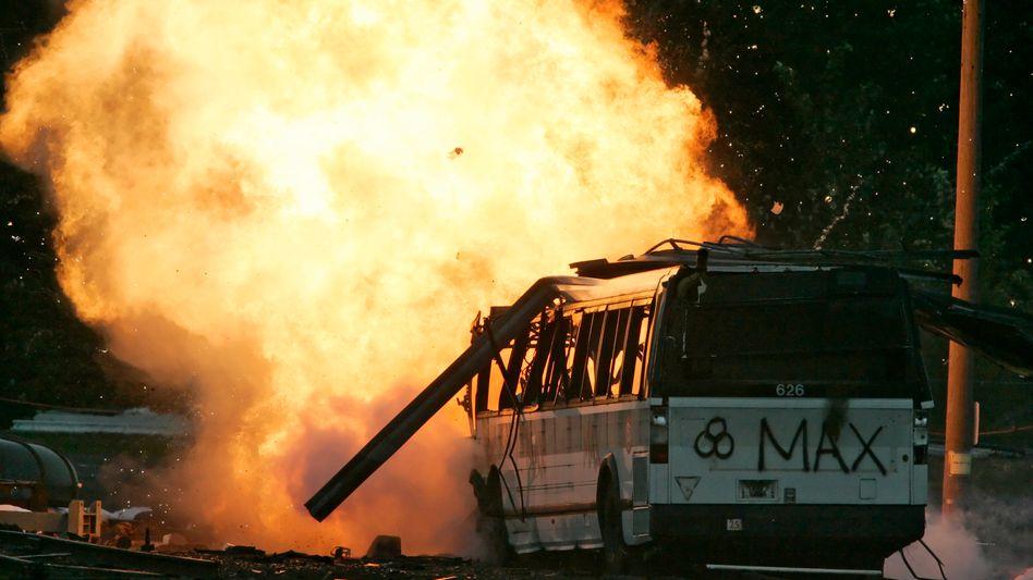 Testexplosion einer schmutzigen Bombe: Der ultimative Alptraum