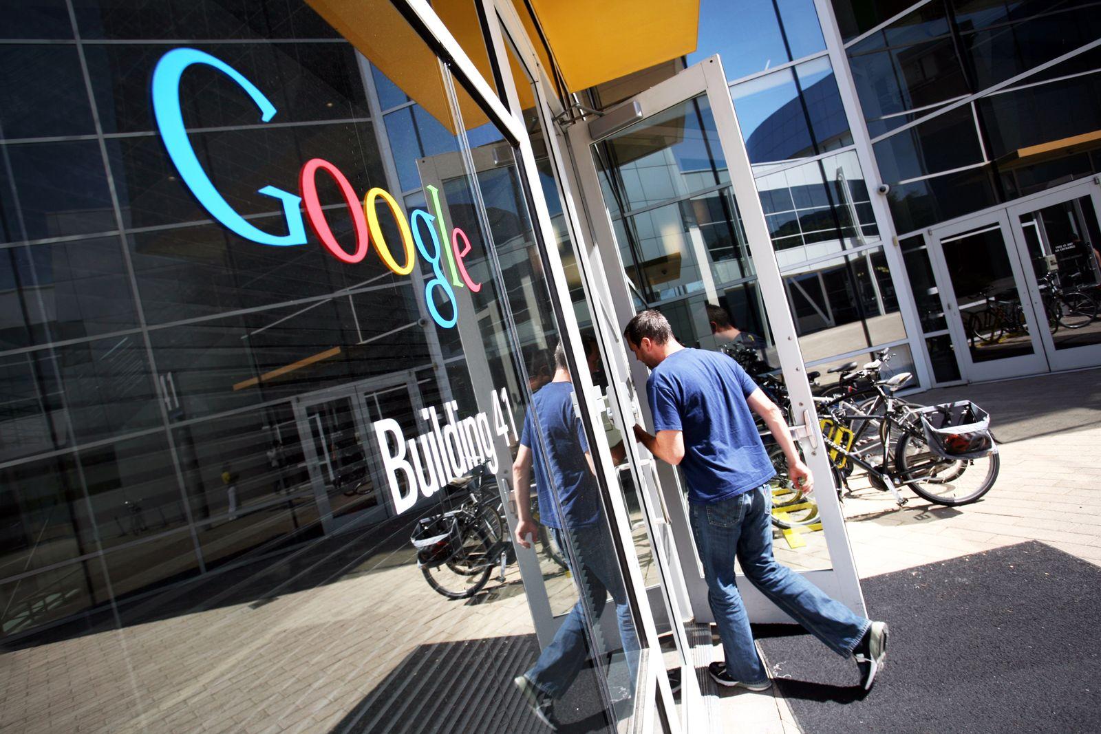 Google Zentrale Kalifornien