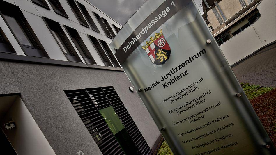 Justizzentrum in Koblenz (Archivbild): Antrag abgelehnt