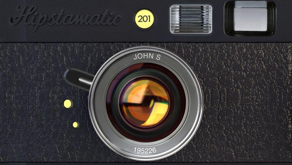 Hipstamatic-App: Retro-Effekte für all zu perfekte Digitalkameras