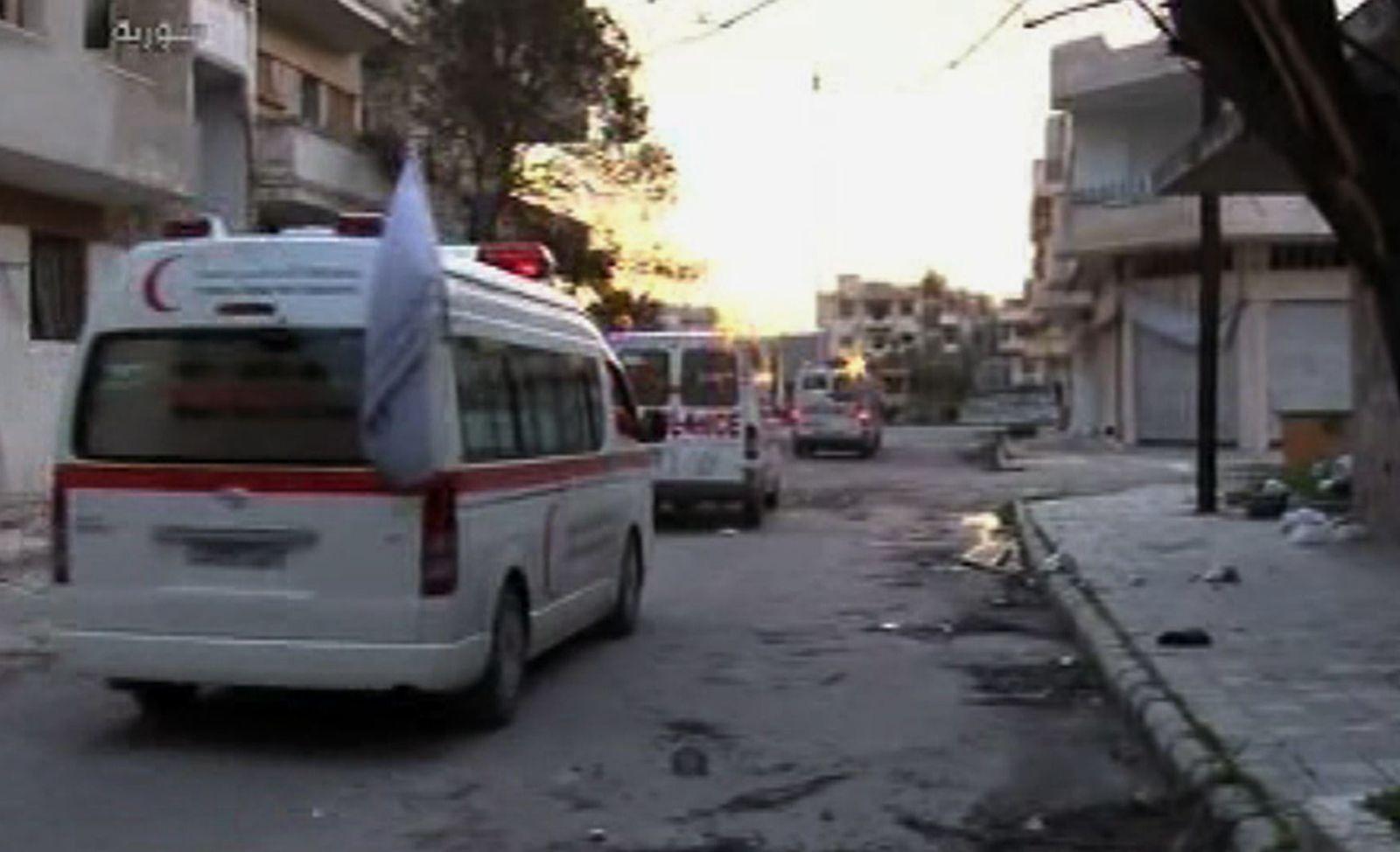 Syrien / Homs / Roter Halbmond