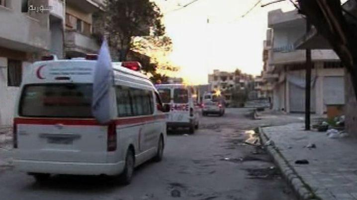 Rotes Kreuz in Homs: Schikane gegen die Helfer