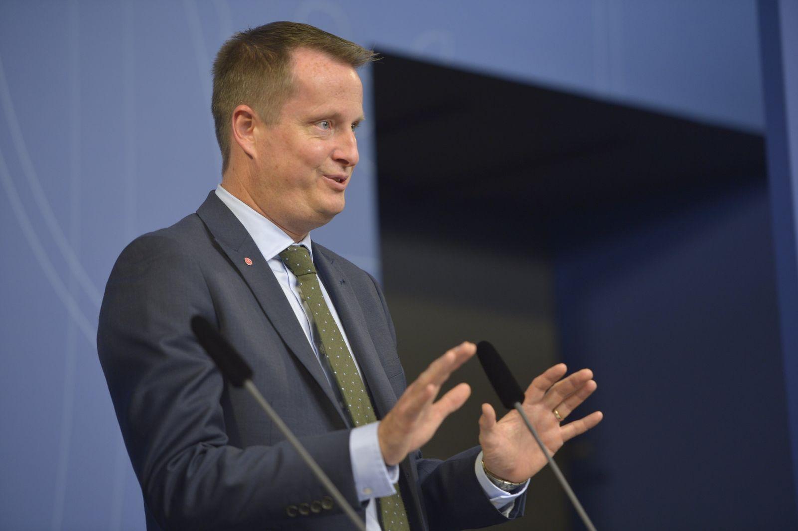 Schwedens Innenminister Anders Ygeman