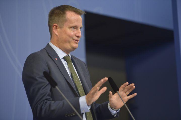 """Innenminister Anders Ygeman: Offene Grenzen seien eine """"Gefahr für die öffentliche Ordnung"""""""