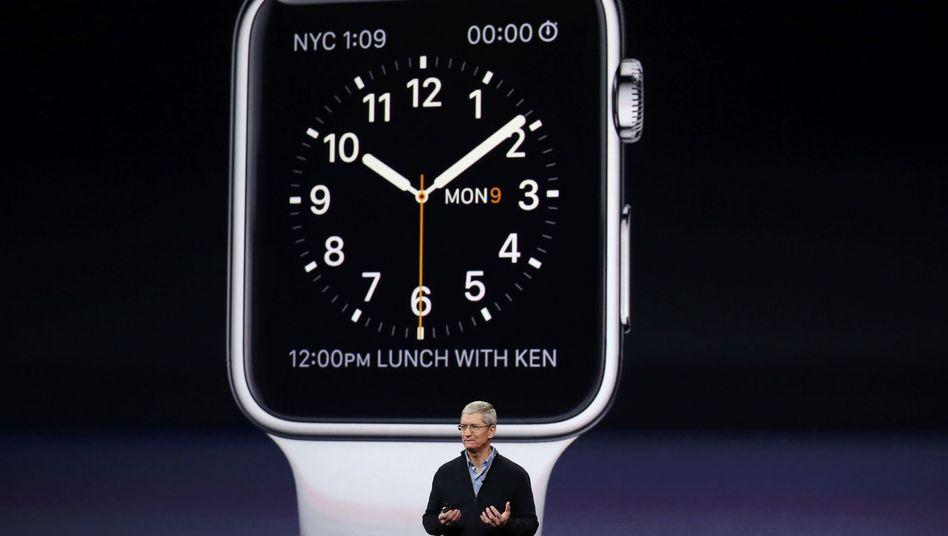 Präsentation in San Francisco: Das ist die Apple-Smartwatch