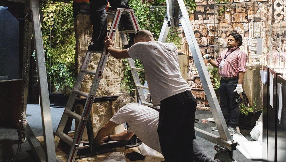 Maya-Schau in Speyer: Wie eine Ausstellung entsteht