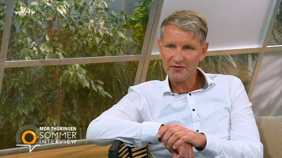 MDR-Interviewpartner Björn Höcke (AfD)