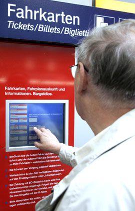 Fahrkartenautomat: Außer Betrieb wegen Stromausfall