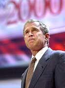 Drängt ins Weiße Haus: George W. Bush