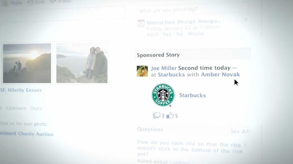 Werbung mit freundlicher Unterstützung: Jeder Nutzer eine Werbefigur