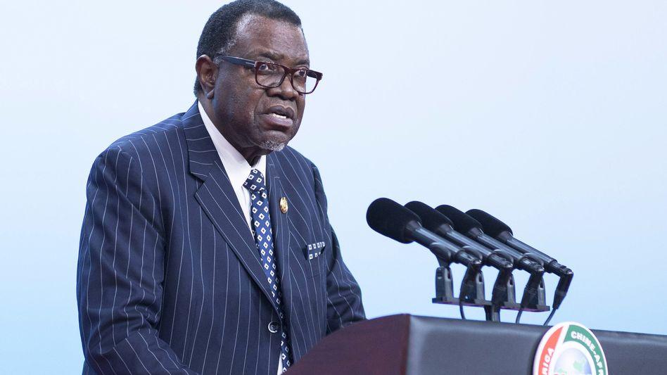 Hage Geingob, Präsident von Namibia